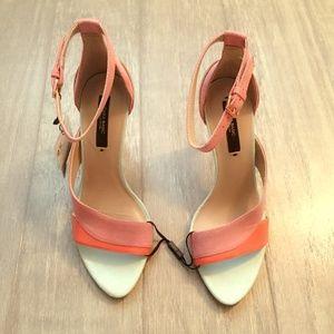 High Heel Strappy Sandal:Multicolor, US 6/EUR 36